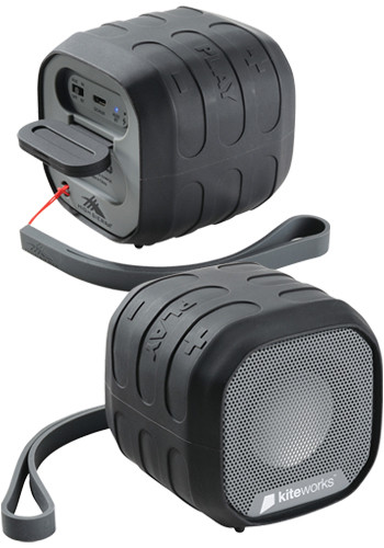 High Sierra Grizzly Outdoor NFC Bluetooth Speakers   LE805218
