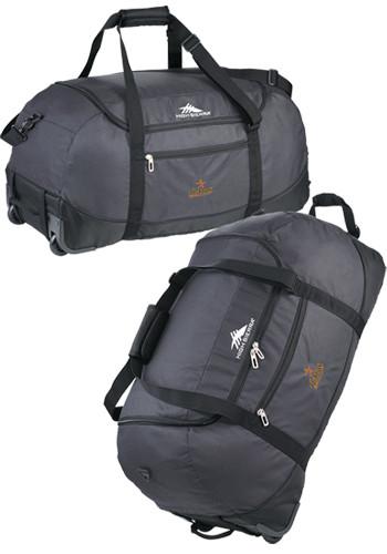 High Sierra Packable 30 inch Wheel-N-Go Duffle Bags | LE805227
