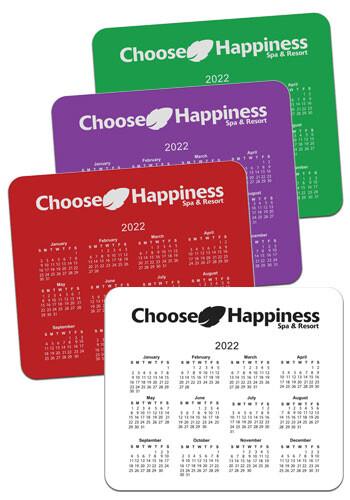 Customized Horizontal Calendar Mouse Pads