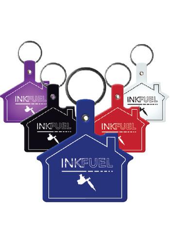 House Flexible Key Tags