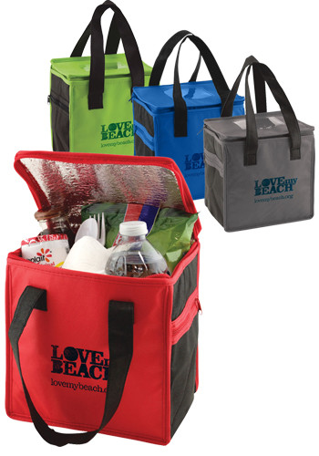 Two Tone Insulated Lunch Totes | PS2TTL0808