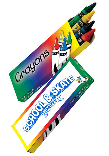 Customized 4-Pack Crayons