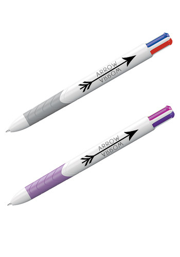 Personalized InkJoy Quatro Ballpoint and Gel Pens