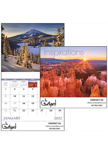 Wholesale Inspirations for Life - Stapled Calendars