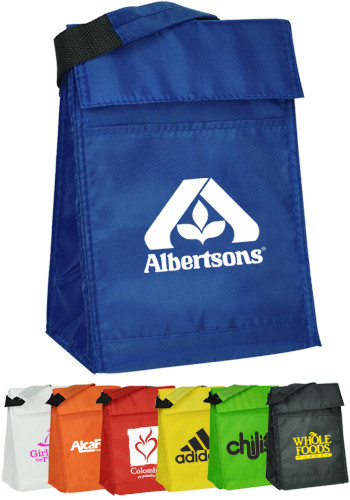 Bulk Velcro Closure Insulated Lunch Bags