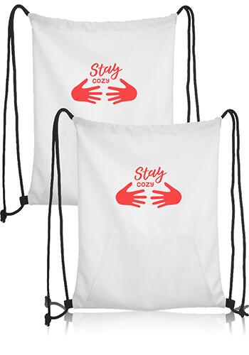 Jersey Drawstring Sports Backpacks | BPK85