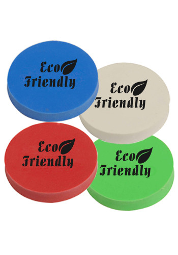 Promotional Jo-Bee Round Erasers