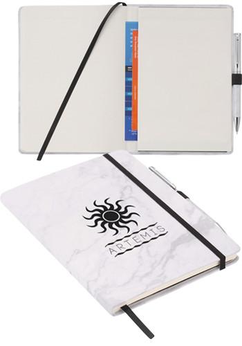 Custom JournalBook Marble Hard Bound