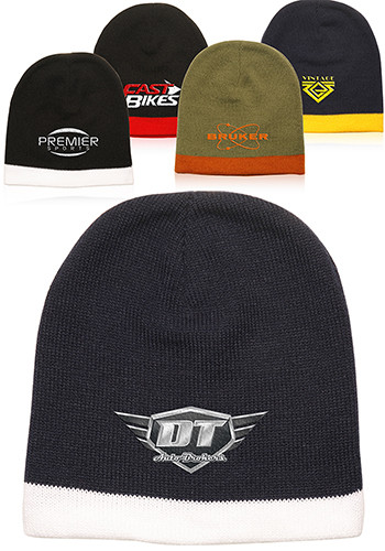 Lined Acrylic Knit Beanies