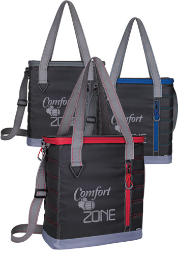 Koozie Quilted Kooler Tote Bags |X30257
