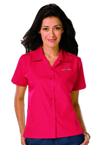 Blue Generation Ladies Poplin Camp Shirts | BGEN6100