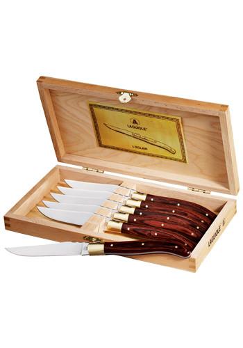 Laguiole 6-Piece Steak Knife Sets | LE125009