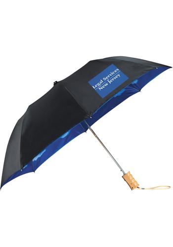 Blue Skies Auto Folding Umbrellas   LE205016