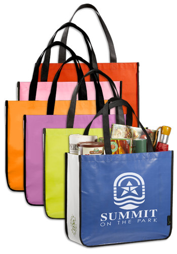 Customized Laminated Non-Woven Large Shopper Tote Bags
