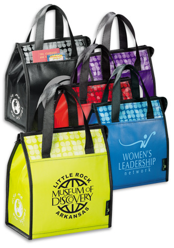 Personalized Laminated Non-Woven Lunch Bags