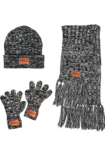 Custom LEEMAN 3-In-1 Heathered Knit Combo
