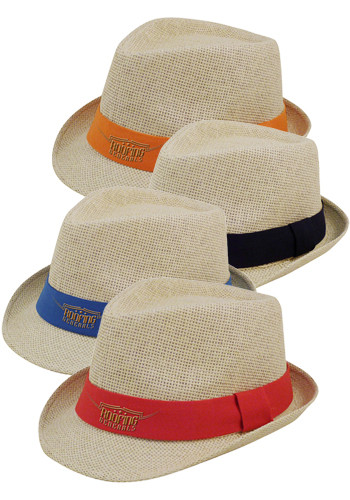 Light Straw Nature Fedora Hats