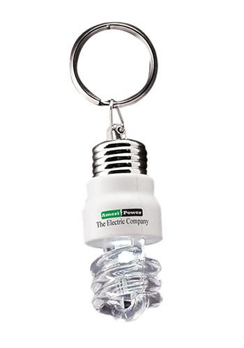Light Saving Bulb Keychains | IL778