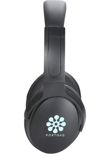 Custom Light Up Logo Bluetooth Headphones