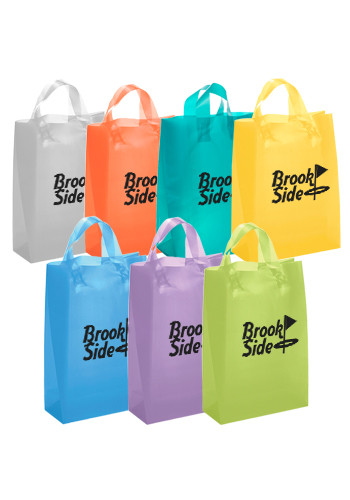 Lily Frosted Brite Shopping Plastic Bags | BM37S810