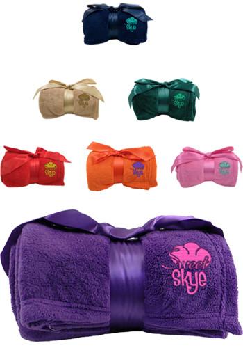 Personalized Luxury Plush Blankets