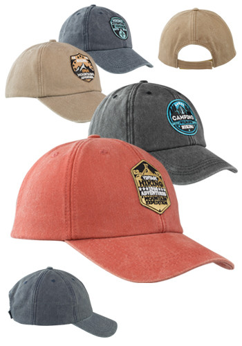 Washed Cotton Baseball Caps
