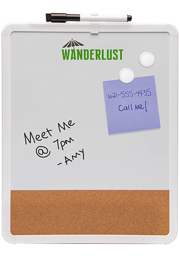 Personalized Magnetic Dry Erase And Cork Boards