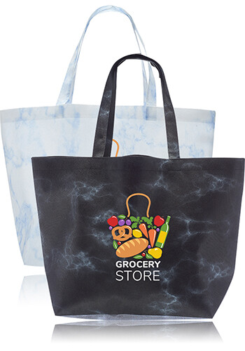 Marble Non Woven Tote Bags | TOT253