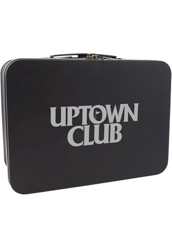 Wholesale Matte Black Retro Lunch Box