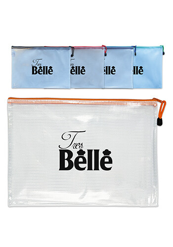 Promotional Medium Document Size Zip Bag