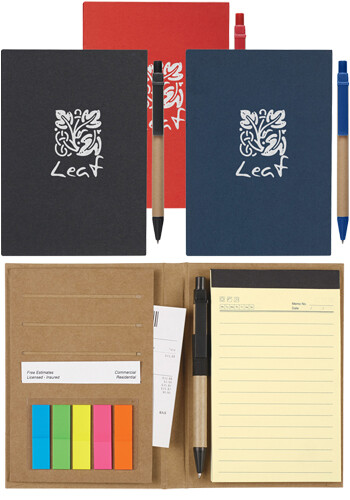 Wholesale Meeting Mate Notebook with Pen and Sticky Flags