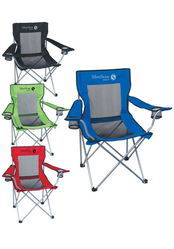 Wholesale Mesh Folding Chairs with Carrying Bag