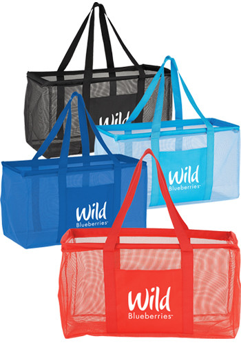 Personalized Mesh Oversized All-Purpose Totes