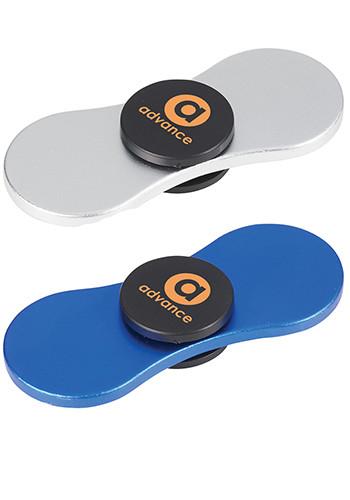 Personalized Metal Spin-It Widget