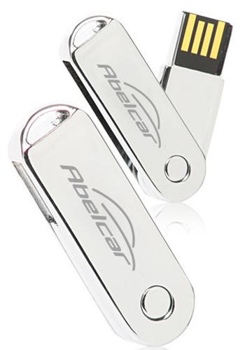 Metallic Swivel 32GB USB Flash Drives | USB06532GB