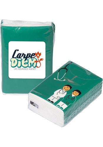 Bulk Mini Tissue Packets - Doctor And Nurse