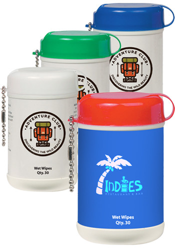 Wholesale Mini Wet Wipe Canisters