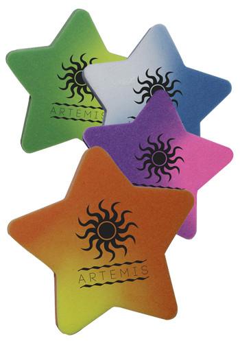 Bulk Mood Die Cut Star Erasers