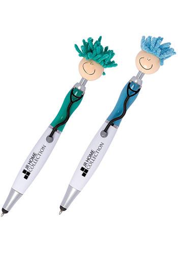 Promotional Mop Topper™ Stethoscope Stylus Pen