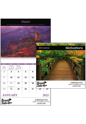 Personalized Motivations - Spiral Calendars