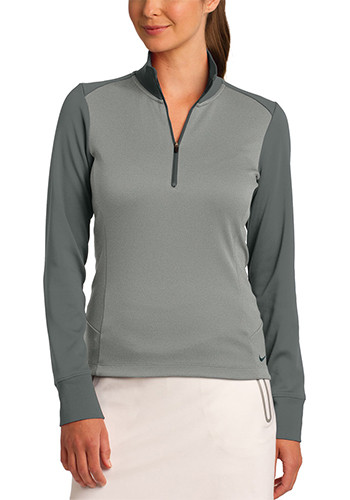 Nike Ladies Dri FIT Half Zip Cover Up Pullovers   SA578674