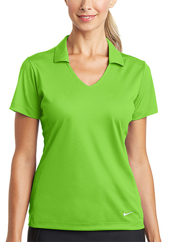 Nike Ladies Dri FIT Vertical Mesh Polos | SA637165