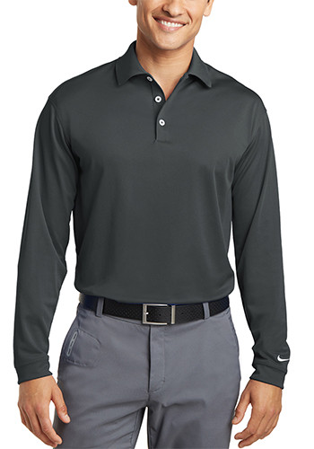 Nike Long Sleeve Dri FIT Stretch Tech Polos | SA466364