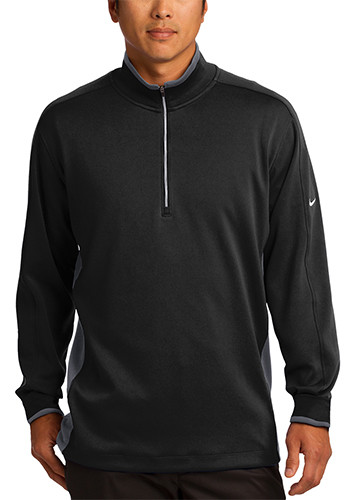 Nike Polyester Dri FIT Half Zip Cover Up Pullovers | SA578673