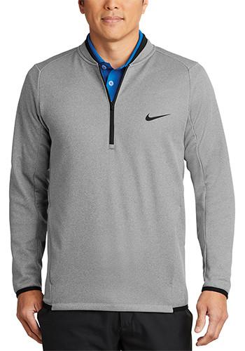 Nike Therma FIT Textured Fleece Half Zip Jackets   SANKAH6267