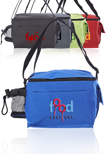 Personalized Olympia Insulated Polyester Lunch Bags