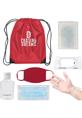 Promotional On the Go Backpack Kit