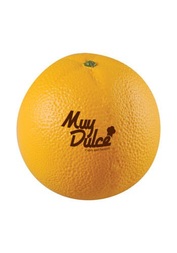 Promotional Orange Stress Reliever