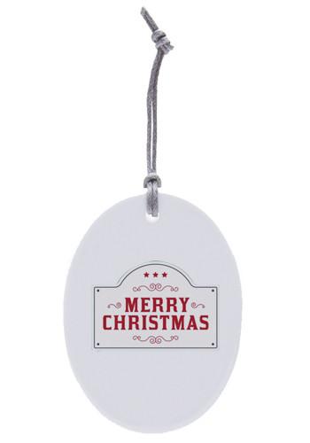 Bulk Oval Ceramic Ornaments