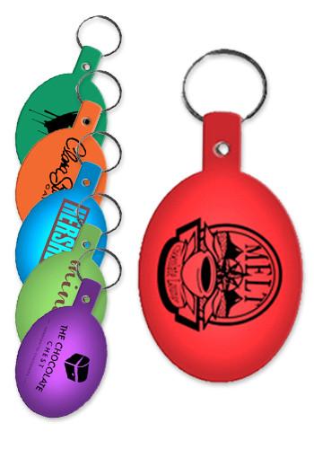 Oval Flexible Key Tags | EM504